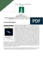 Intro to Formatting iBooks - EDSS 197 OL1 - Course Syllabus
