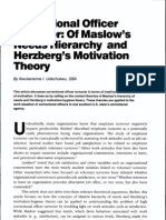 Herzberg's Motivation Theory Tham Khao Ass
