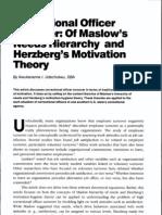 Herzberg's Motivation Theory Tham Khao Ass