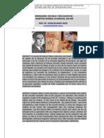 60. NORMALISMO, ESCUELA Y EDUCACION EN LA MAESTRA NORMAL DE MANUEL GALVEZ