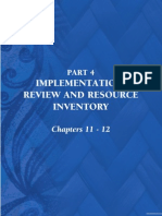 Natural Resource Management Plan 2005 - Part 4 chapters 11-12