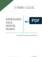 Guia de operación educativa ADT