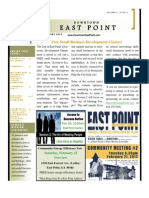Downtown East Point Newsletter February 2012