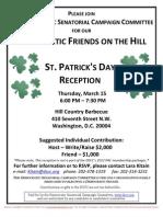St. Patrick's Day Reception