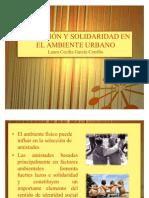 AFILIACIÓN Y SOLIDARIDAD EN EL AMBIENTE URBANO