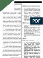 Provas DETRAN português e texto Anexar ao referencial teórico