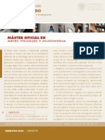 Artes Visuales Multimedia Master 2007 / 2008