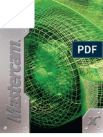 MasterCAM - X4 - Mill Professional Course Ware L3