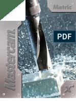 MasterCAM - X4 - Mill Training Tutorial