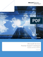201108 MS ANZ Services Premier Support Catalogue-1