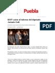 07-02-12 RMV Asiste Al Informe Del Diputado Antonio Gali-Sexenio Puebla