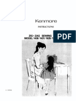 kenmore 385 15218400 sewing machine service manual rh es scribd com Kenmore Sewing Machine Model 385.15516000 Kenmore 385 Series Sewing Machine