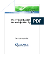 The Typical Layout of an Ozone Injection System