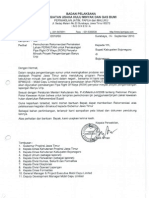 2010 06 September No. 1915-BPD4100-2010-S0 -- an Rekomendasi Pemakaian Lahan Perhutani Untuk Pemasangan ROW Penyalur Minyak Proyek an BU --Bupati Bojonegoro(2)