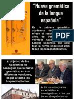 Nueva Gramática - Real Academia de la Lengua