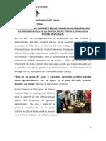 LAS MUJERES DEL GABINETE DEPARTAMENTAL ACOMPAÑARON A LA PRIMERA DAMA DE LA NACION EN SU VISITA A VILLA RICA NORTE DEL CAUCA.