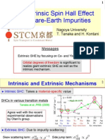 T. Tanaka and H. Kontani- Giant Extrinsic Spin Hall Effect due to Rare-Earth Impurities