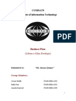 Ecomm Business Plan
