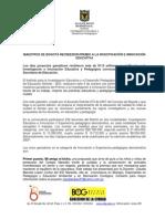 premiacion IDEP 2011