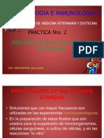 Pract. # 2 Prep Soluciones Standar