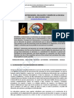 61. EDUCACION, DE LA HETERONOMIA  A LA  AUTONOMIA