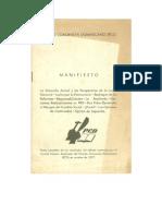 1977, 10 PCD Manifiesto