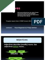 Adjective Final