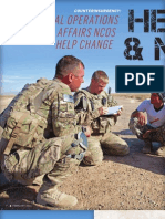 Civil Affairs NCOs change hearts and minds