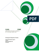 Reportes de Lab Oratorio Electronic A Analogica II
