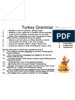 Turkey Grammar