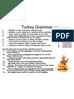 Turkey Grammar