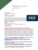 Tentativa Oficializar Email ao CNJ atraves de Manifestação ao STF