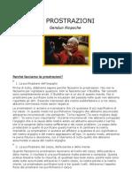 Gendun Rinpoche - Le Prostrazioni