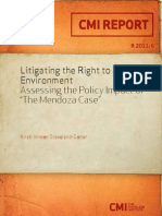 4258 Litigating the Right to a Healthy Environment