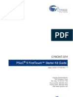 CY8CKIT-014_PSoC 5 First Touch Starter Kit_Guide