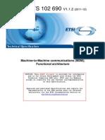 ETSI TS 102 690 V1.1.1