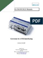 (Niam)S6100 Governor and AVR Interfacing UK PDF