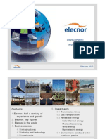 Elecnor - Development and Investment Presentation Feb 2012
