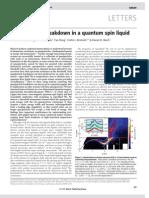 Matthew B. Stone et al- Quasiparticle breakdown in a quantum spin liquid