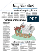 The Daily Tar Heel for February 16, 2012