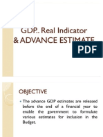 Gdp Advance Estimate