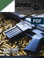 DPMS 2012 Catalog