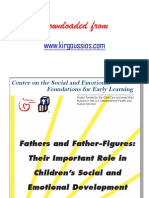 Parenting) Fathers and Father-Figures - Their Important Role in Children's Social and Emotional Development