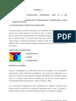 1.5 y 1.7 Comunicación Interpersonal y Niveles