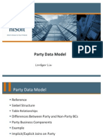 Party Data Model