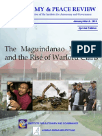 The Maguindanao Massacre and the Rise of Warlord Clans