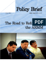 The Road to Reforms in the ARMM
