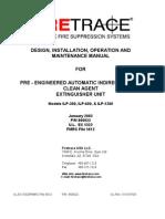Firetrace Manual