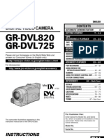 Camcorder JVC GR-DVL725U Instruction Manual