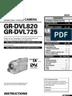 Camcorder JVC GR-DVL725U Instruction Manual